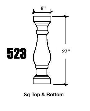 523 Baluster design