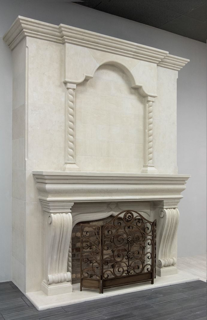 Tile And Stone >> Architectural Fireplaces - Cobra Stone INC.