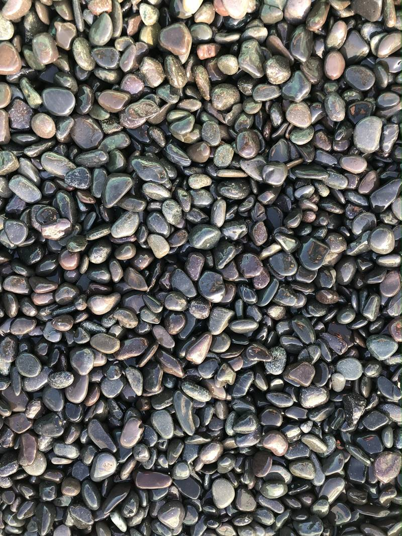 Mini Black Pebbles